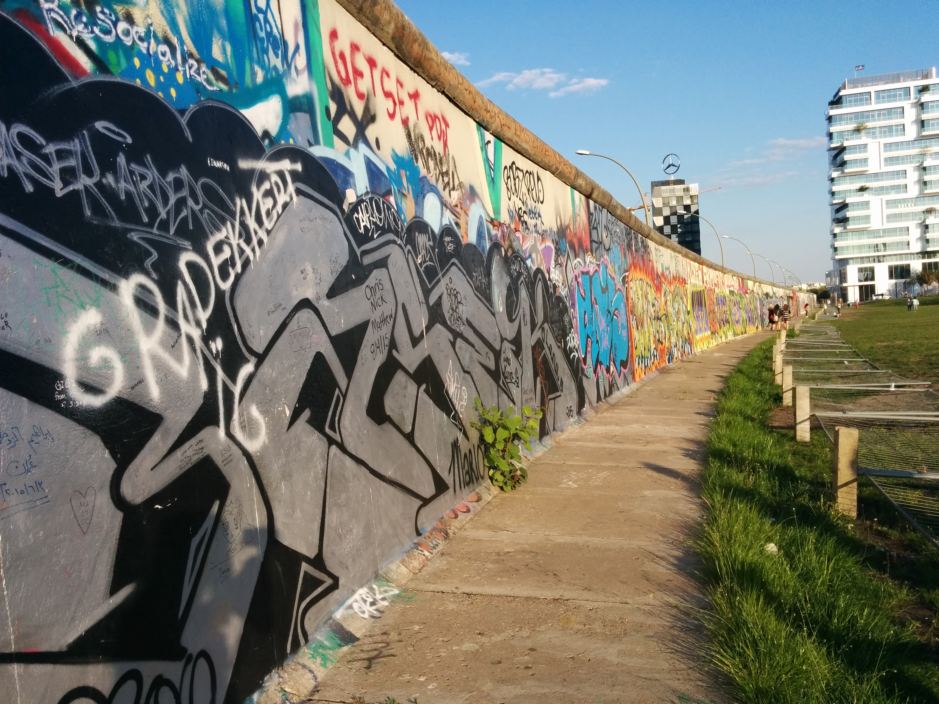 Images from the East Side Gallery
