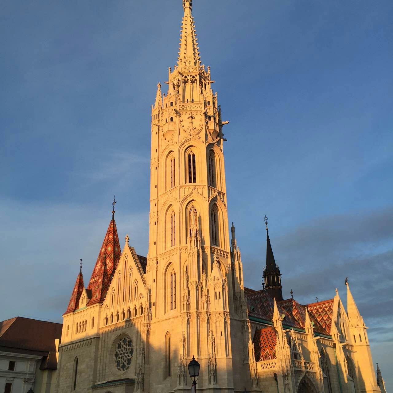 Matthias church, again