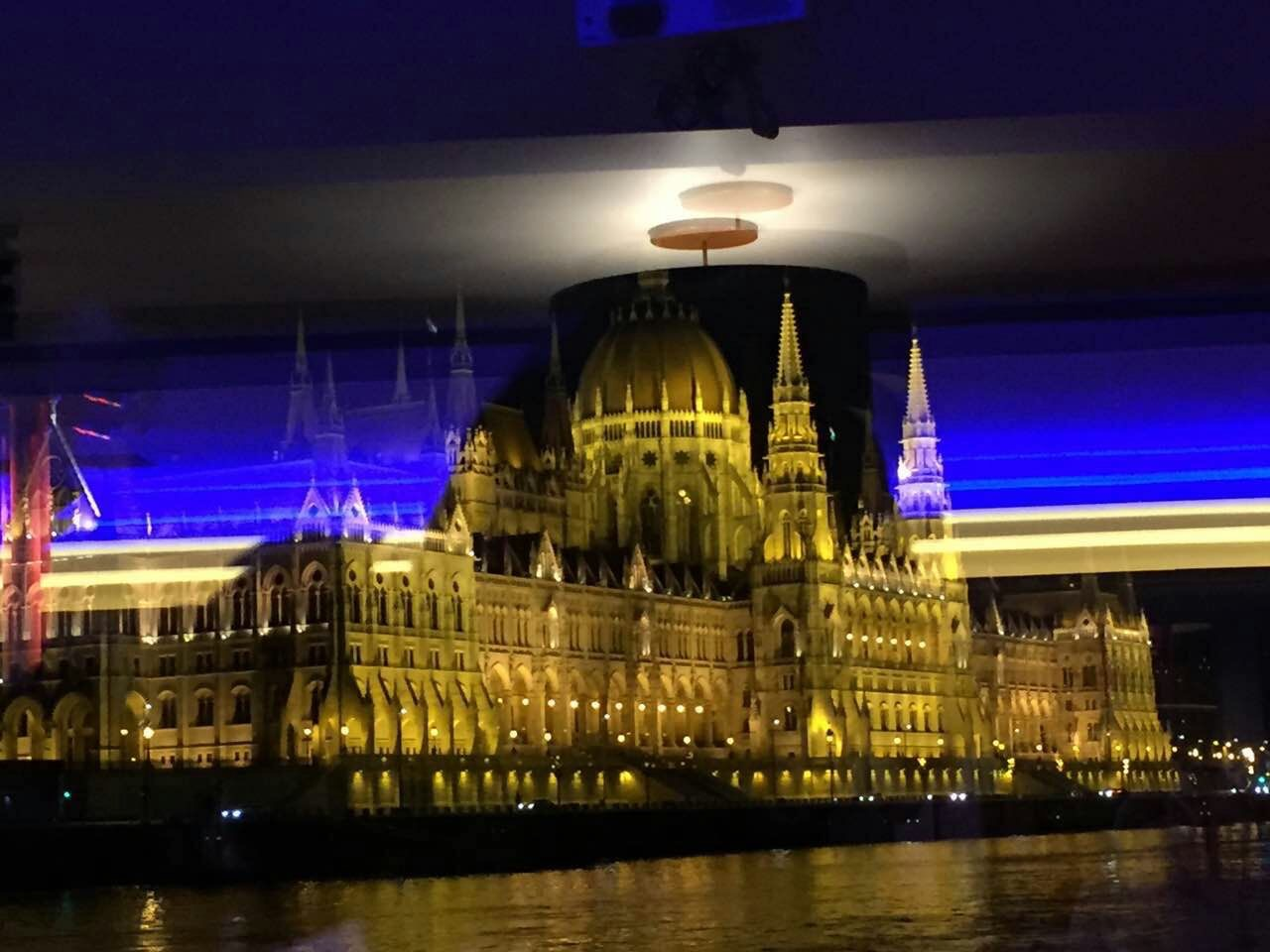 An artsy picture of Parliament