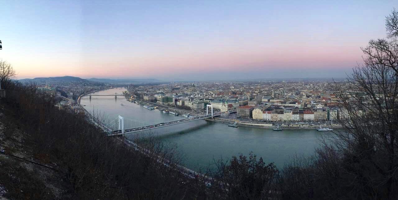 Panorama from Gellért