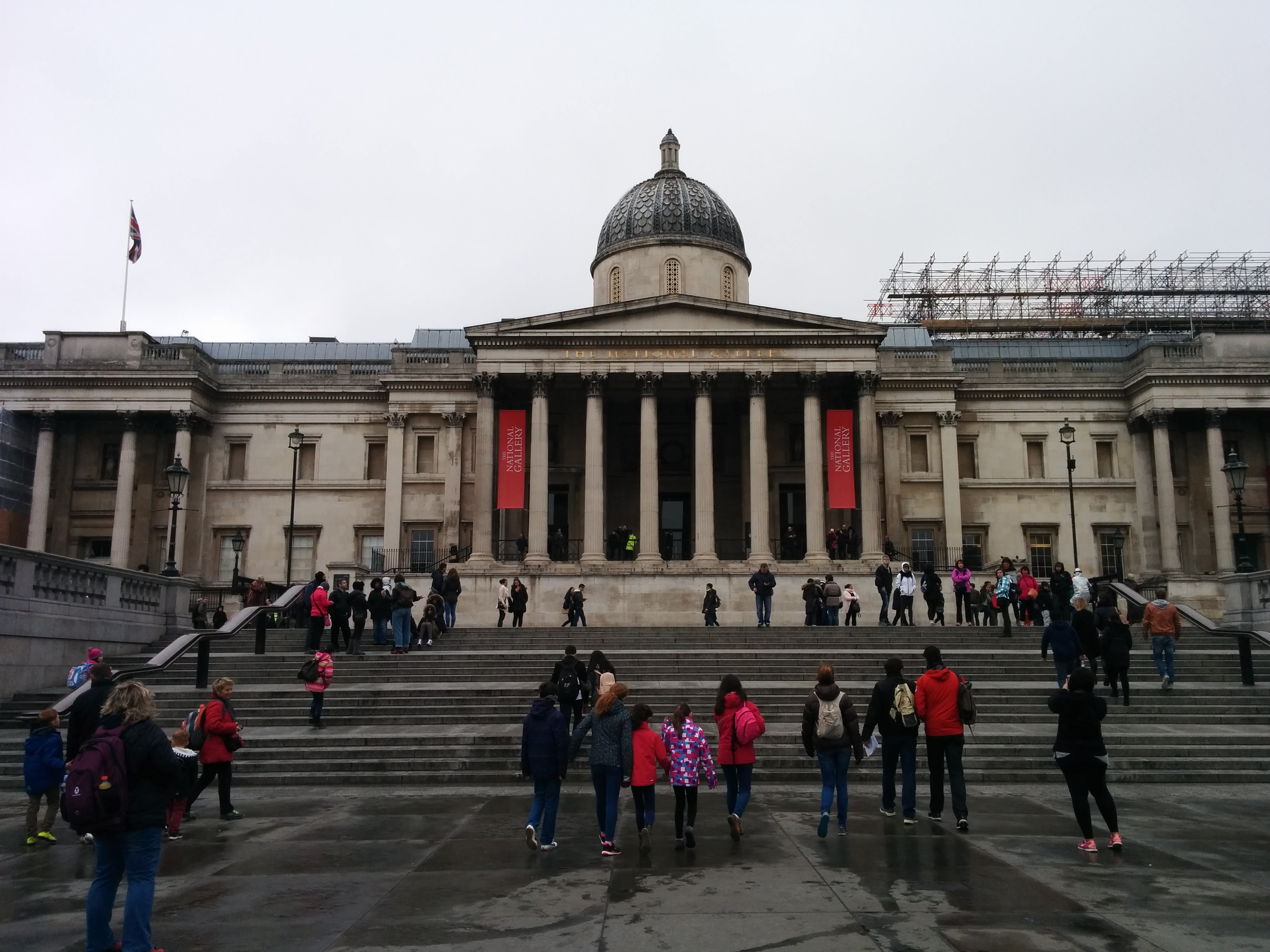 The National Gallery, home to works of art from around the world