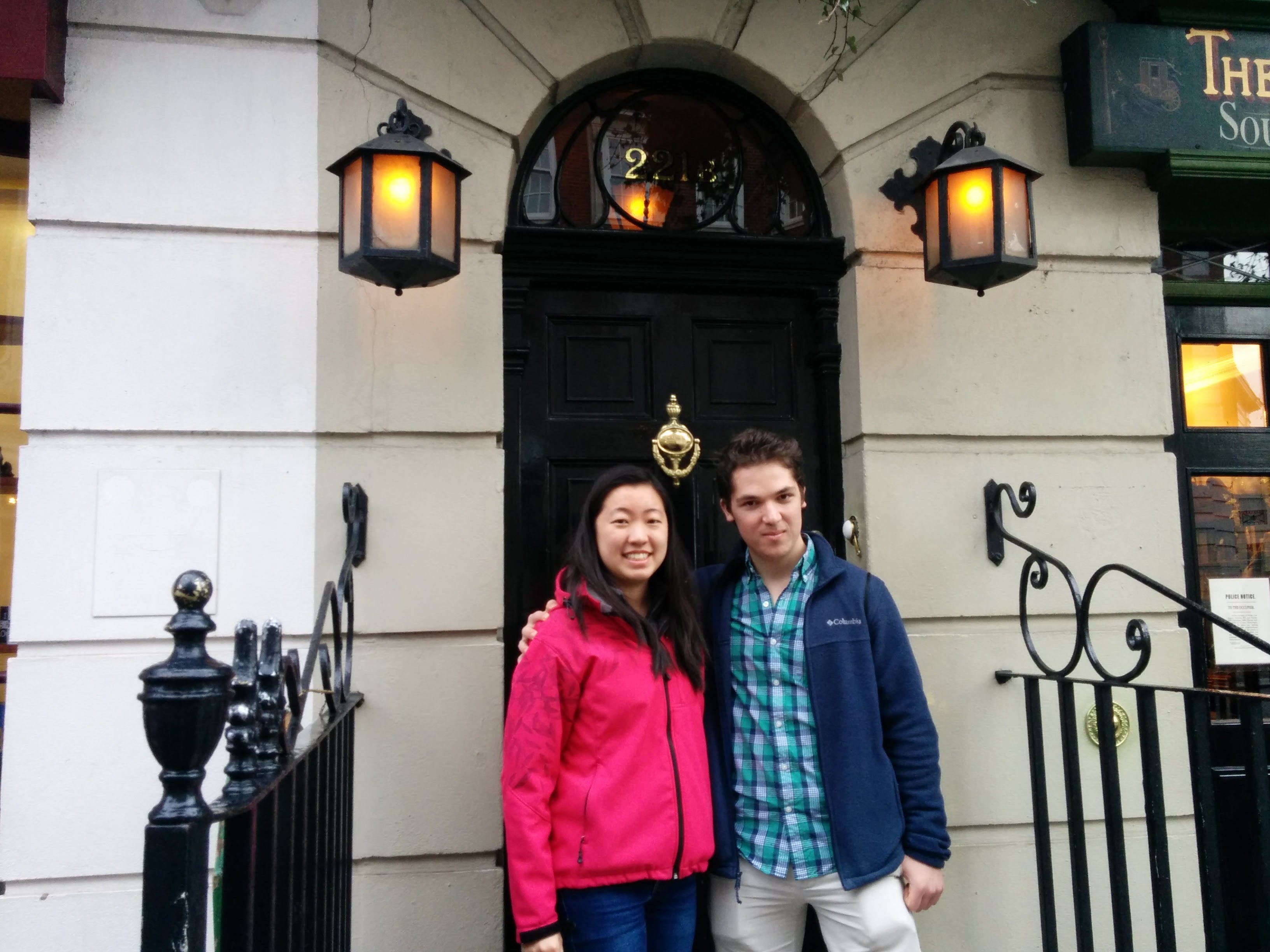 Janos and I make a house call at 221b Baker Street, residence of Sherlock Holmes