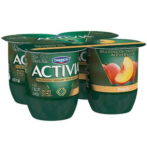 ACTIVIA PEACH 4 pk