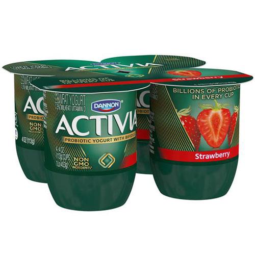 ACTIVIA STRAWBERRY 4pk