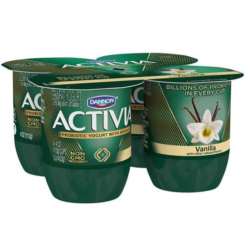 ACTIVIA VANILLA 4pk