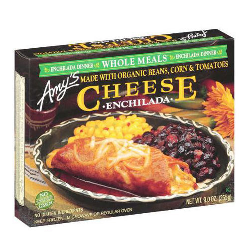 AMY'S CHEESE ENCHILADA WHOLE MEAL 9oz