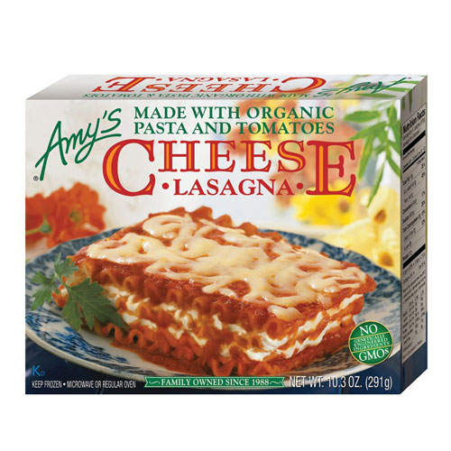 AMY'S CHEESE LASAGNA 10.3oz