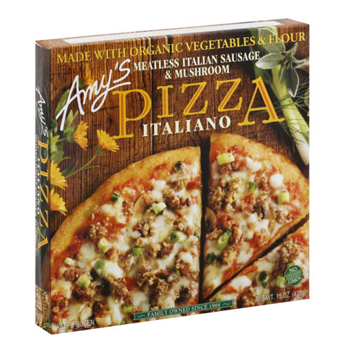 AMY'S PIZZA ITALIANO 15oz