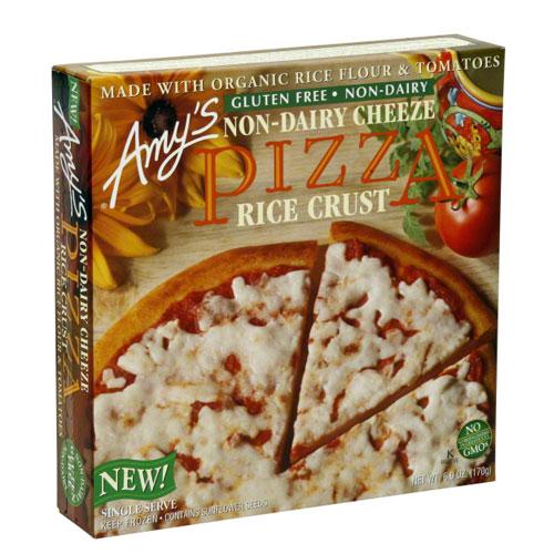 AMY'S PIZZA RICE CRUST 6oz