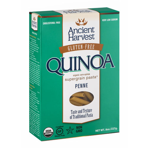 ANCIENT HARVEST GLUTEN FREE QUINOA PENNE 8oz