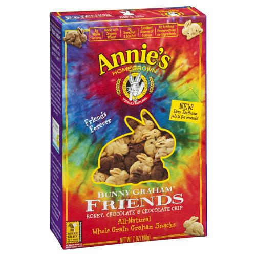 ANNIE'S FRIENDS BUNNY GRAHAMS 7oz