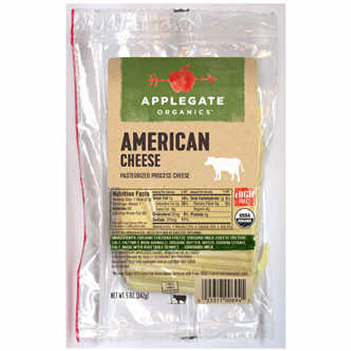 APPLEGATE ORGANIC SLICED PROVOLONE CHEESE 5oz