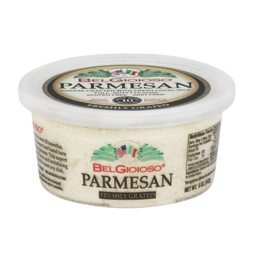 BELGIOIOSO GRATED PARMESAN CHEESE 5oz