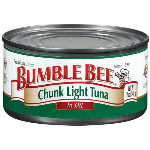 BUMBLE BEE CHUNK LIGHT TUNA IN OIL 5oz