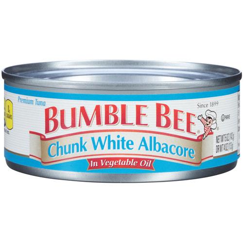 BUMBLE BEE  CHUNK WHITE ALBACORE IN WATER 5oz