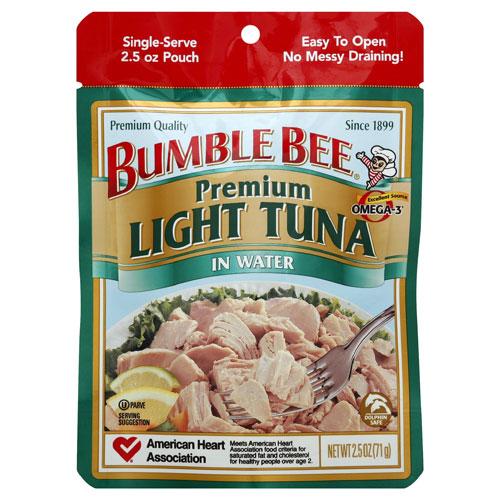 BUMBLE BEE LIGHT TUNA 2.5oz