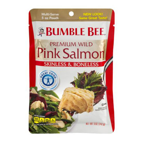 BUMBLE BEE PINK SALMON 5oz