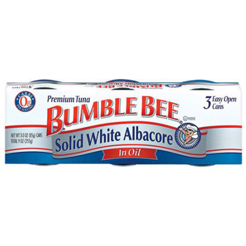 BUMBLE BEE  SOLID WHITE ALBACORE IN OIL 9oz