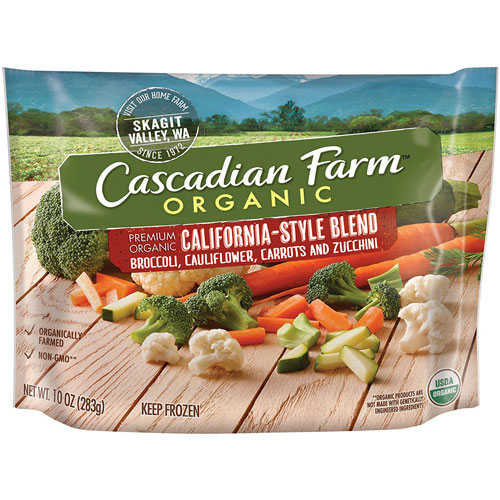 CASCADIAN FARM CALIFORNIA STYLE BLEND 10oz