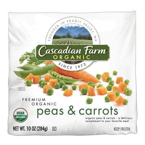 CASCADIAN FARM ORGANIC PEAS & CARROTS 10oz