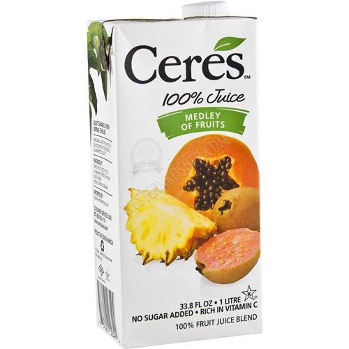 CERES JUICE MEDLEY OF FRUITS 33.8oz
