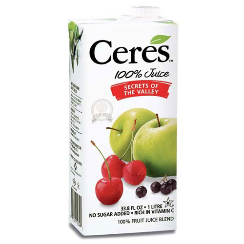 CERES JUICE SECRETS OF THE VALLEY 33.8oz
