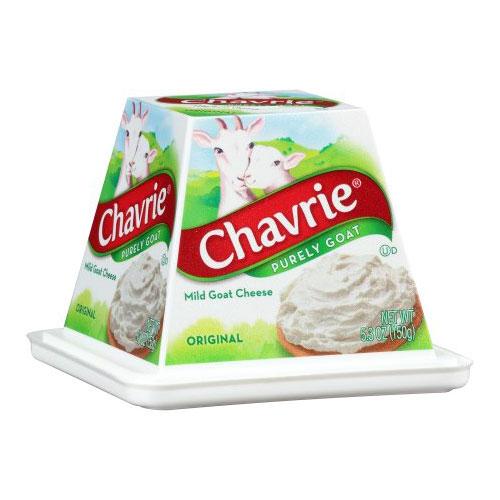 CHAVRIE MILD GOAT CHEESE ORIGINAL 5.3oz