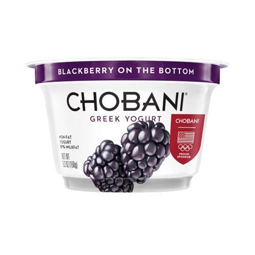 CHOBANI  GREEK YOGURT NON FAT 0% BLACKBERRY 5.3oz