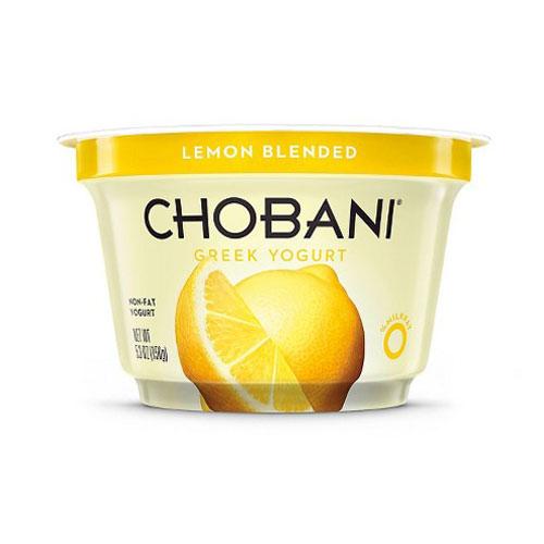 CHOBANI GREEK YOGURT NON FAT 0% LEMON 5.3oz
