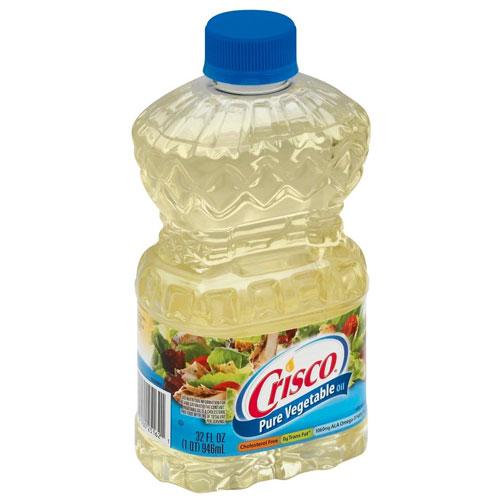CRISCO PURE VEGETABLE OIL 32oz