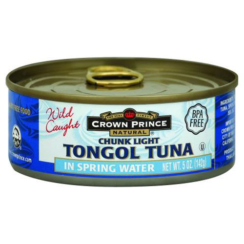 CROWN PRINCE CHUNK LIGHT TONGOL IN WATER 5oz