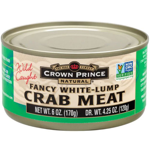 CROWN PRINCE CRAB MEAT 6oz