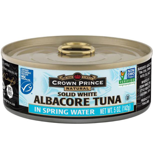 CROWN PRINCE SOLID WHITE ALBACORE IN WATER 5oz