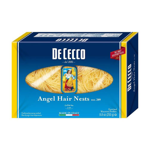 DE CECCO ANGEL HAIR NESTS #209 8.8OZ