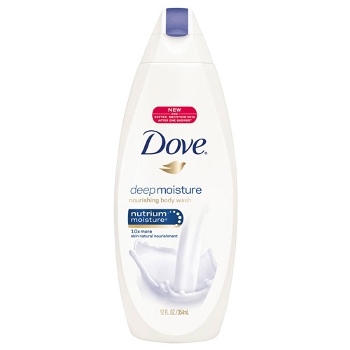 DOVE BODY WASH DEEP MOISTURE 12oz