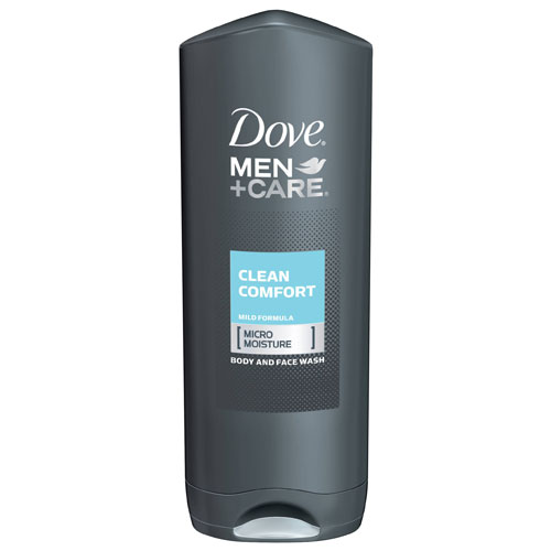DOVE MEN +CARE BODY FACE WASH MILD 13.5oz