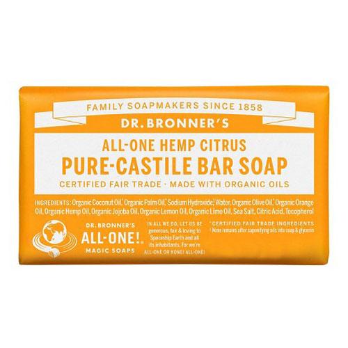 DR BRONNERS BAR SOAP CITRUS 5oz