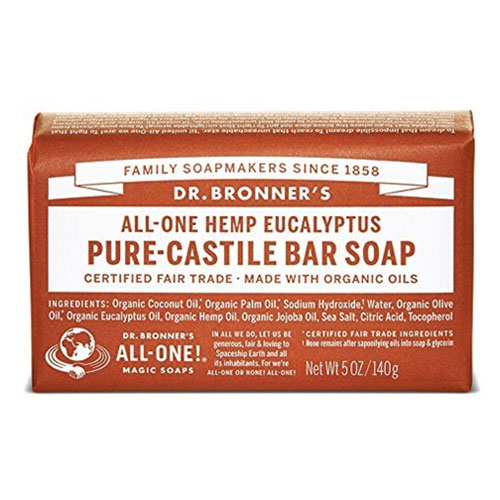 DR BRONNERS BAR SOAP EUCALYPTUS 5oz