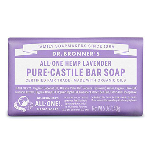 DR BRONNERS BAR SOAP LAVENDER 5oz