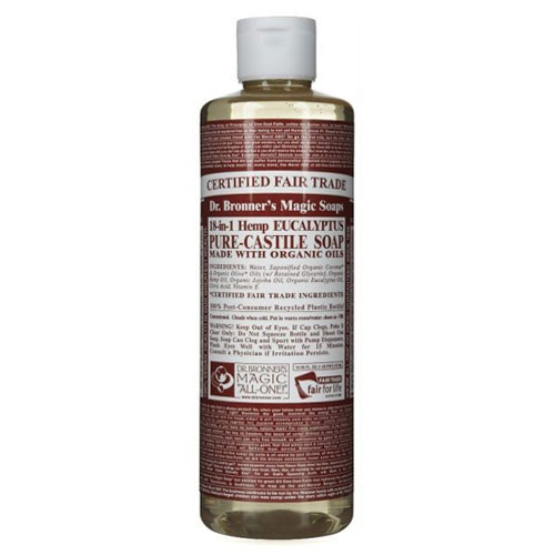 DR BRONNERS MAGIC SOAP EUCALYPTUS 16oz