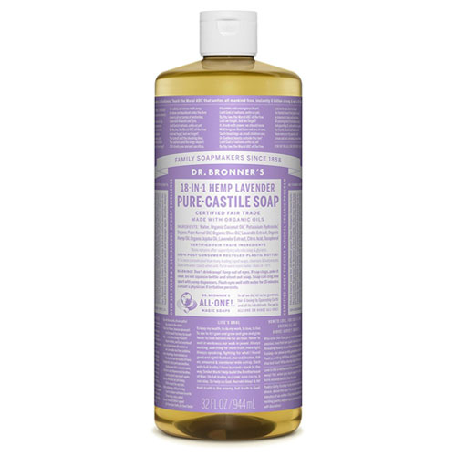 DR BRONNERS MAGIC SOAP LAVENDER 32oz