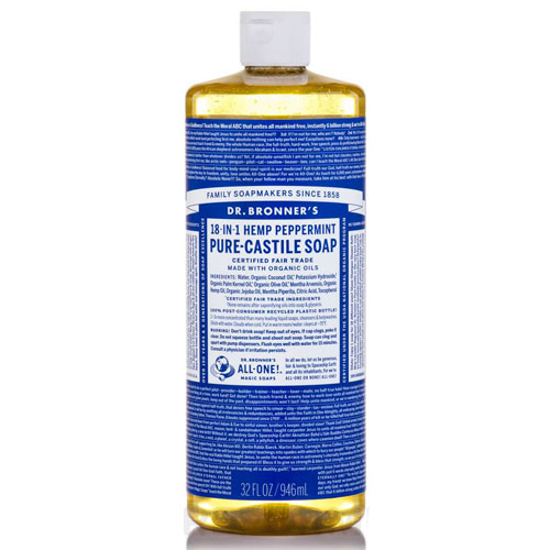 DR BRONNERS MAGIC SOAP PEPPERMINT 32oz