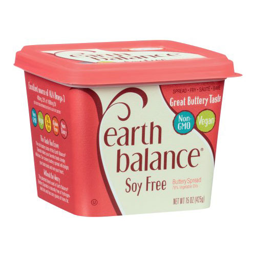 EARTH BALANCE VEGAN SOY FREE BUTTERY SPREAD 15oz