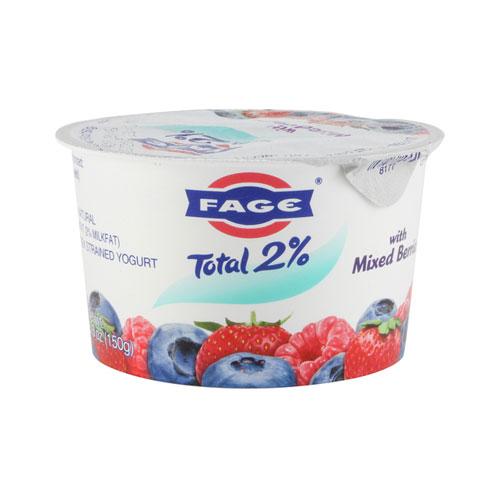 FAGE GREEK YOGURT 2% MIXED BERRIES 5.3oz