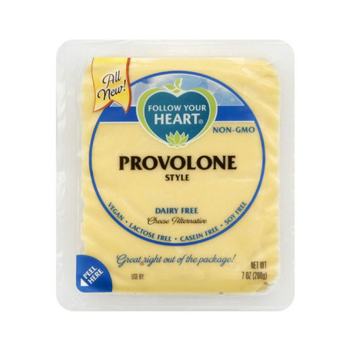 FOLLOW YOUR HEART VEGAN CHEESE SLICES PROVOLONE 7oz