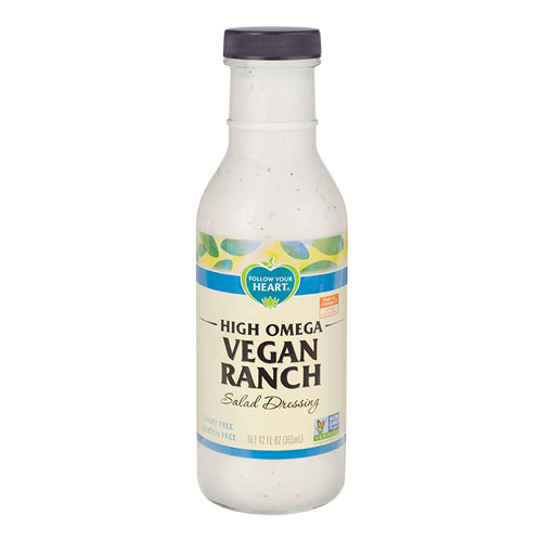 FOLLOW YOUR HEART VEGAN DRESSING  RANCH 12oz