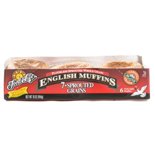 FOOD FOR LIFE ENGLISH MUFFIN 7 GRAIN 16oz