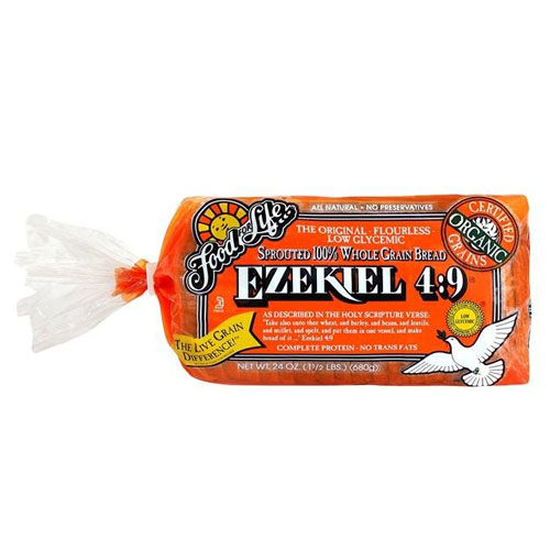FOOD FOR LIFE EZEKIEL 4:9 SPROUTED 24oz