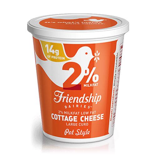 FRIENDSHIP 2% COTTAGE CHEESE 16oz