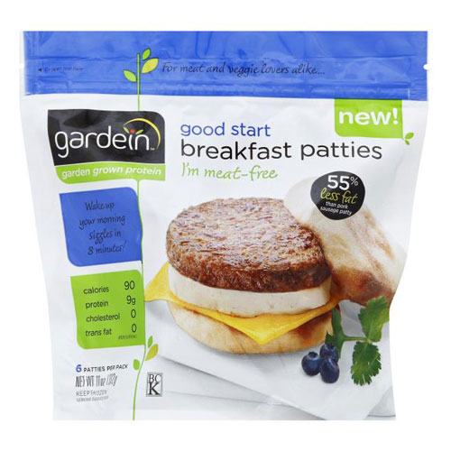 GARDEIN BREAKFAST PATTIES 11oz